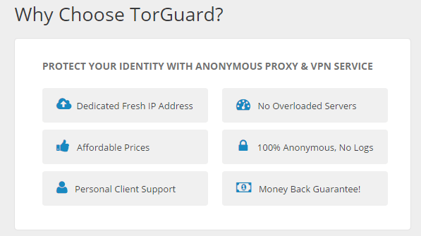 dedicated IP of torguard vpn