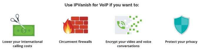 ipvanish for voip
