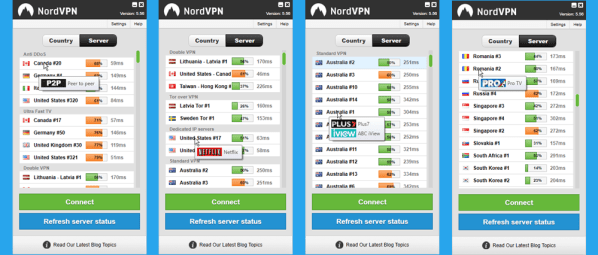 nordvpn client feature