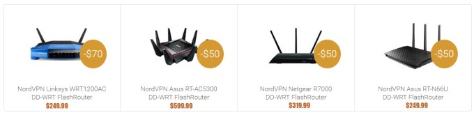 vpn router price with nordvpn