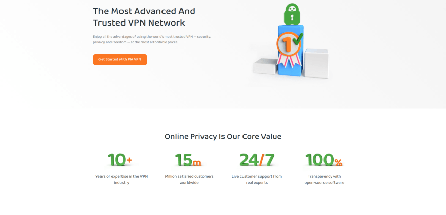 The Most Advanced And Trusted VPN Network