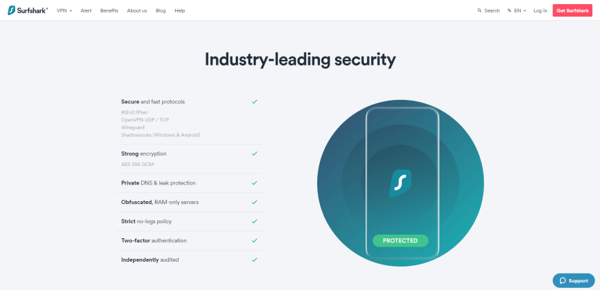 Industry-leading security