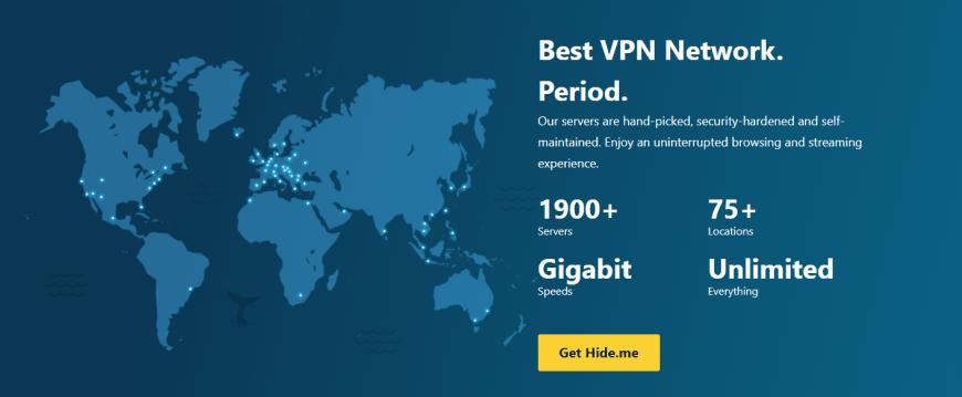 Best VPN Network. Period.