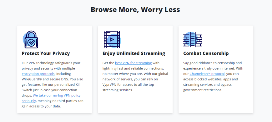 Browse More, Worry Less