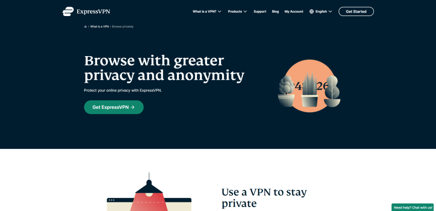 Browse with greater privacy and anonymity