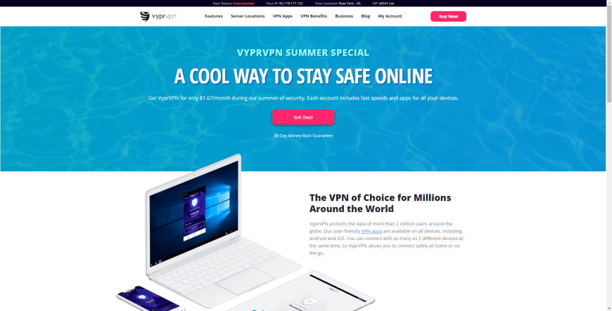 A COOL WAY TO STAY SAFE ONLINE