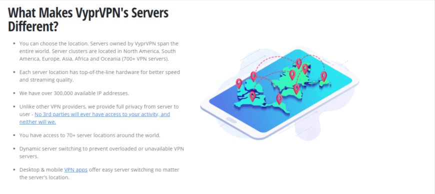 What Makes VyprVPNs Servers Different