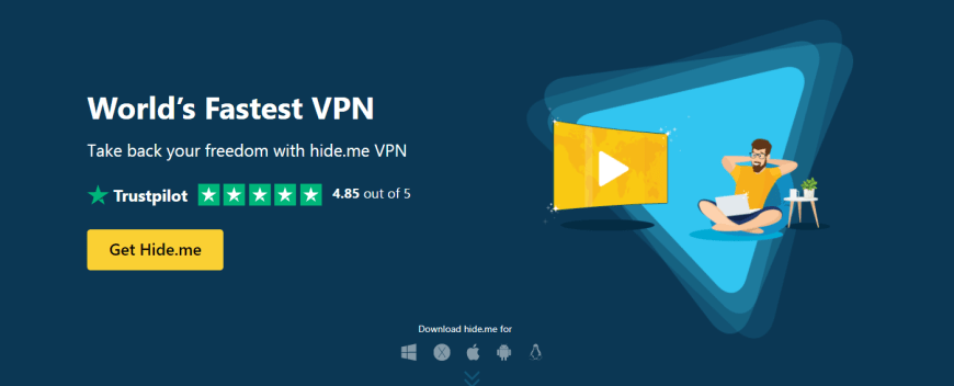 World s Fastest VPN and Privacy Protection hide me