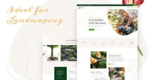 Garderia - Landscaping & Gardening  WordPress Theme - 1
