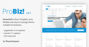 Inco - Multipurpose Joomla! Template - 1