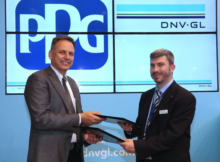 PPG and DNV GL collaborate to improve hull performance