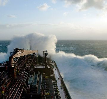 Weather accounts for 80 per cent of the impact on vessel performance