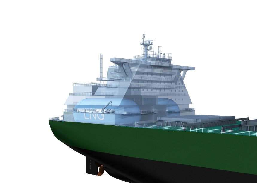 Green Corridor project delivers LNG-fuelled bulk carrier designs