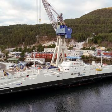 Fjord1's electric ferry enters into service