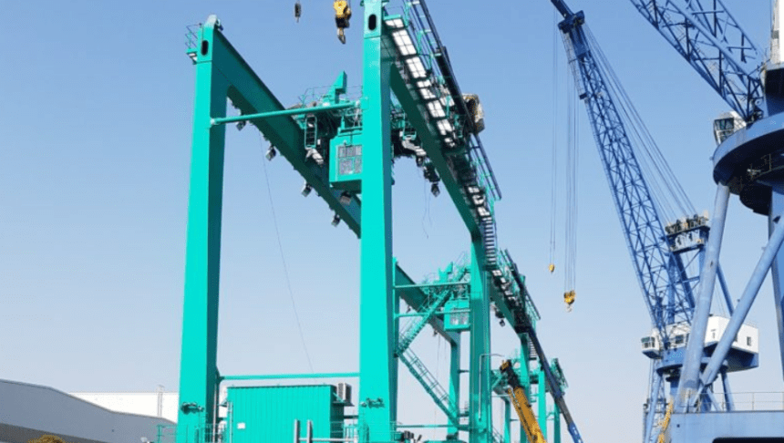 Corvus secures contract for hybrid port cranes