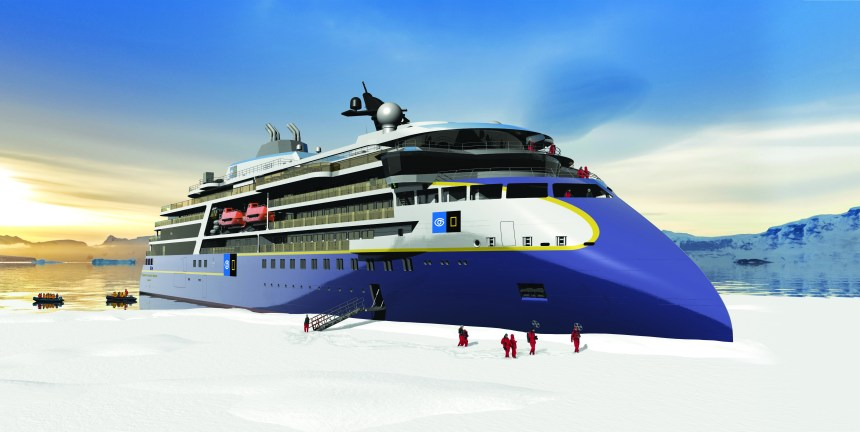 Lindblad confirms order with Ulstein for second polar expedition vessel