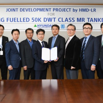 Hyundai LNG-fuelled tanker design gets LR approval