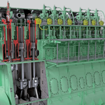 MAN Energy Solutions unveils low-pressure two-stroke gas engine