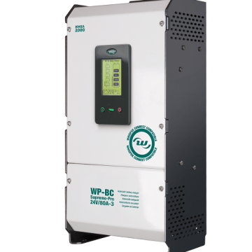 WhisperPower introduces 24V battery chargers