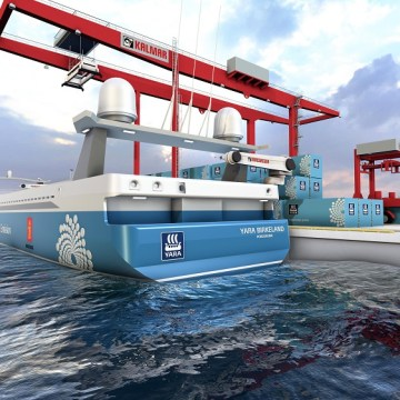 MacGregor to deliver automated mooring system for Yara Birkeland