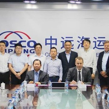 COSCO and Wärtsilä target Chinese market with EGCS cooperation