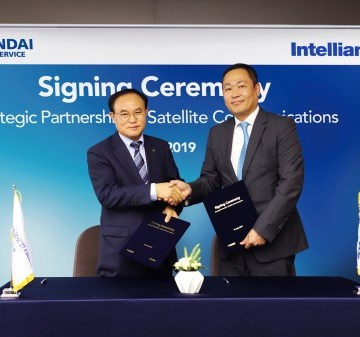 Hyundai and Intellian in satcoms partnership to support vessel performance