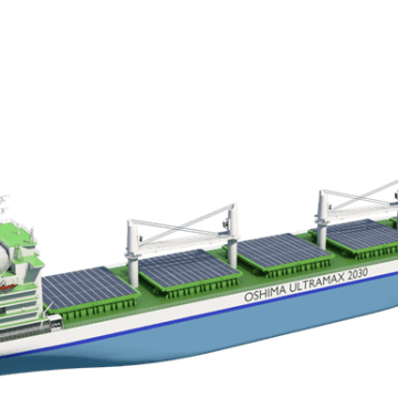 Wärtsilä, Oshima & DNV GL design bulk carrier to meet IMO 2030 targets
