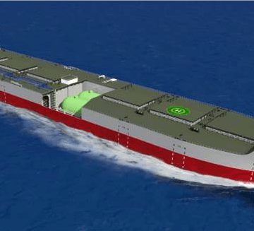 """K"" Line signs AiP for LNG-fuelled ore carrier concept"