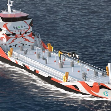 Japanese shipping firms plan for zero-emission electric ships