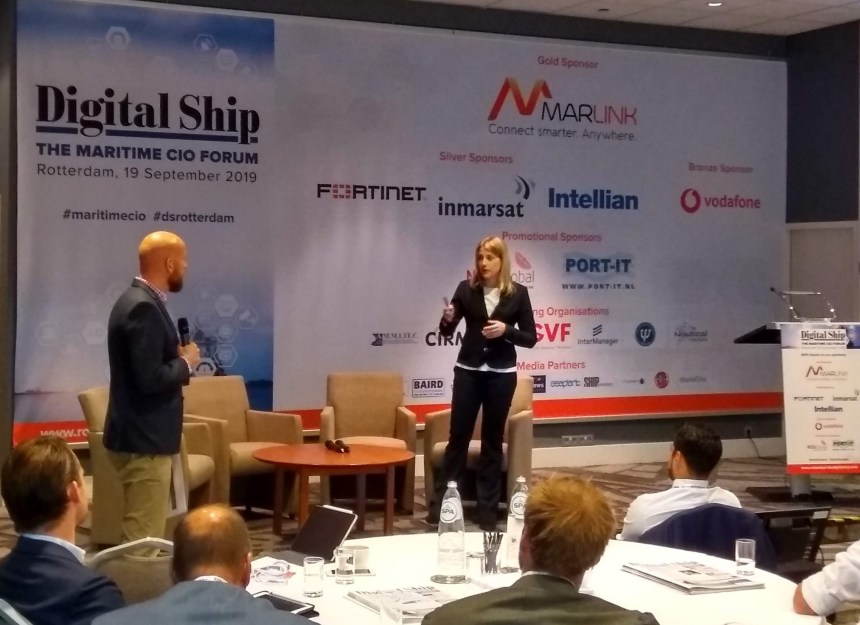 Implementing technology a minor part of shipping's digital transformation