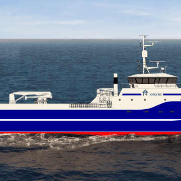 Norwegian vessel goes diesel-free with Blueday system