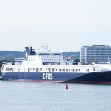 CSA 2020 applauds DFDS for a decade of successful scrubber operations