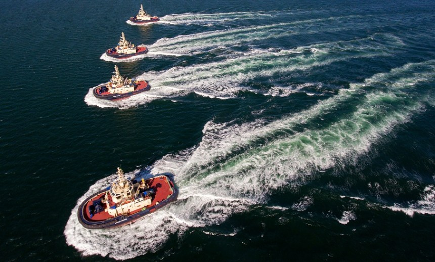 Svitzer signs 10-year service agreement with Rolls-Royce