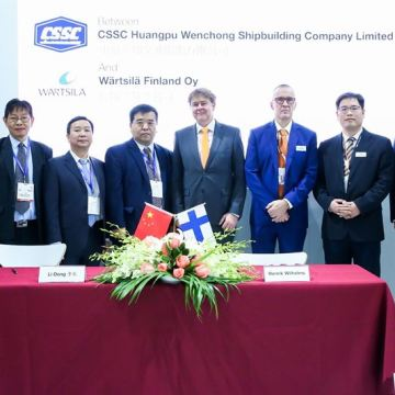 Wärtsilä and Chinese shipbuilder to jointly develop hybrid vessels