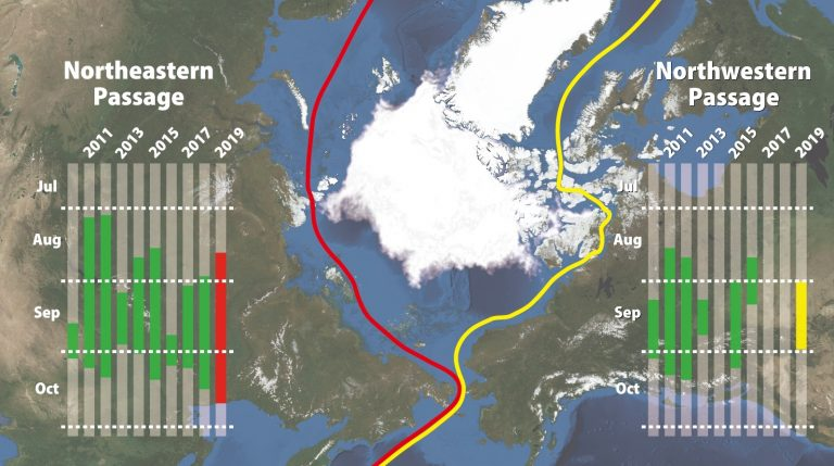 Weathernews reports increased Northern Sea Route voyages in 2019