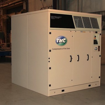 TMC launches fuel saving air lubrication system compressors