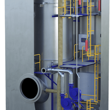 Alfa Laval PureSOx Express scrubber eases compliance with SOx regulations