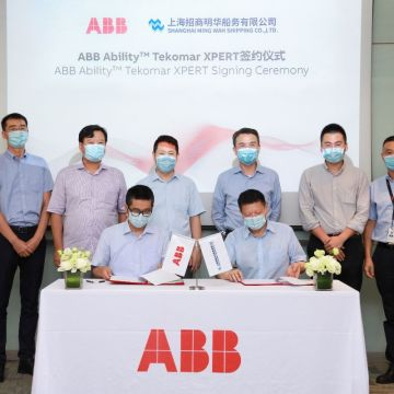 Shanghai Ming Wah rolls out ABB Ability Tekomar XPERT after fuel savings