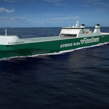 Finnlines begins construction of hybrid ro-ro
