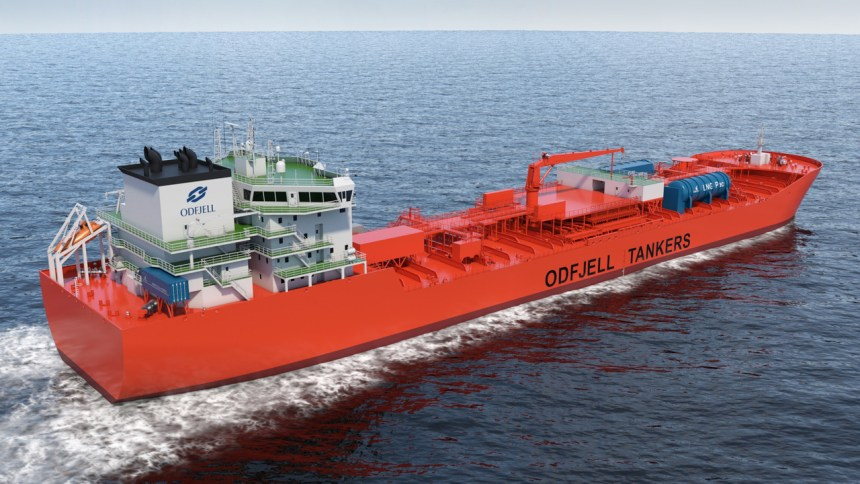 Odfjell pilots new fuel cell solution