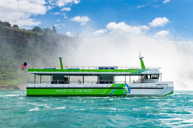 All-electric Niagara Falls ferries powered by ABB enter service