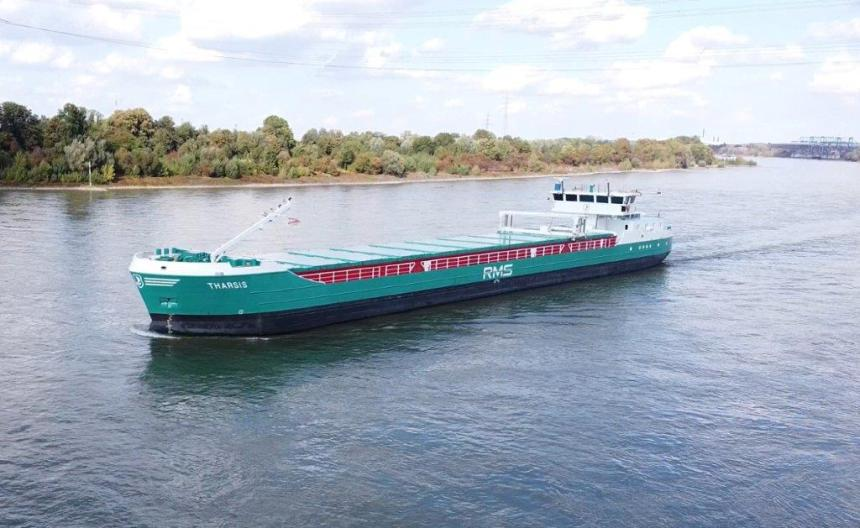 Tharsis fits eConowind wind-assisted solution to cargo ship