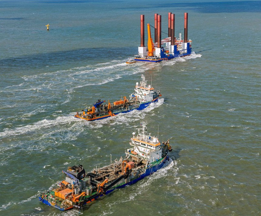 Van Oord signs maintenance and optimisation agreement with ABB Turbocharging