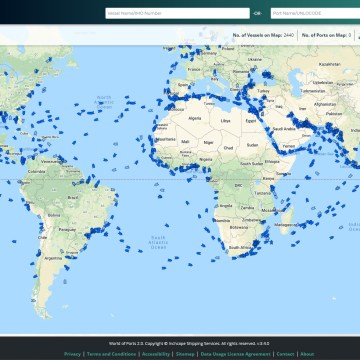 Inchcape adds Port Cost Estimator to World of Ports platform
