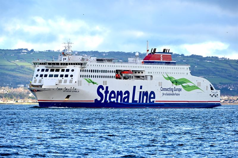 Stena Line announces roadmap to achieve 30 per cent emissions reduction by 2030
