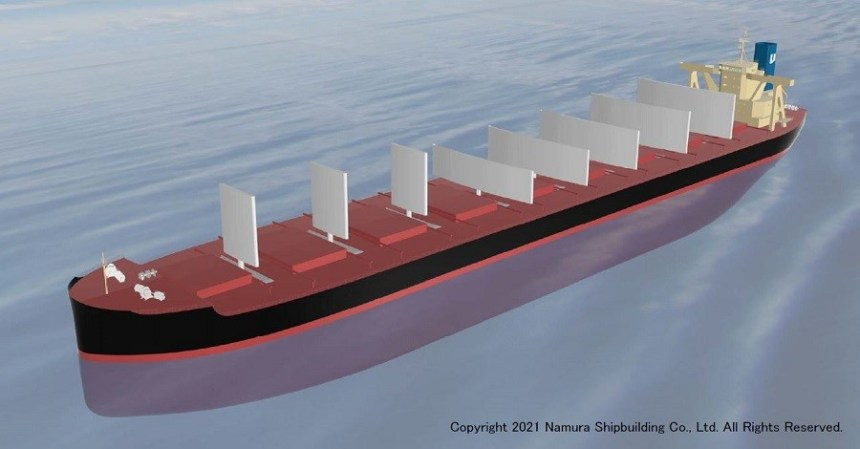 Namura and NS United Kaiun to develop wind-assisted Capesize