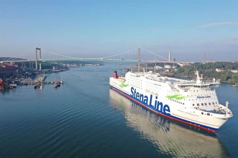 Recycled methanol powers Stena ferry from Sweden to Germany