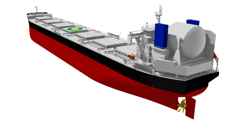 ClassNK grants AiP to Tsuneishi Shipbuilding for concept design of LNG-fuelled bulker
