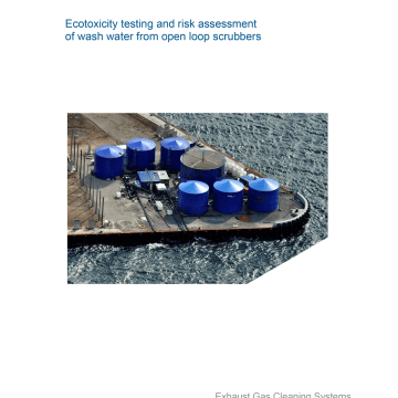 Ecotoxicity study dispels myths about open-loop scrubbers