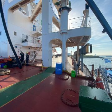 Berge Bulk and GoodFuels complete first bio-bunkering